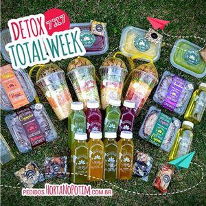 Detox Total Week - 7 Dias [ O Indicado por Nutricionistas ] - 15%OFF